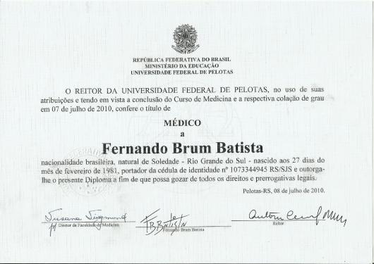 Fernando Brum Batista - Galeria de fotos