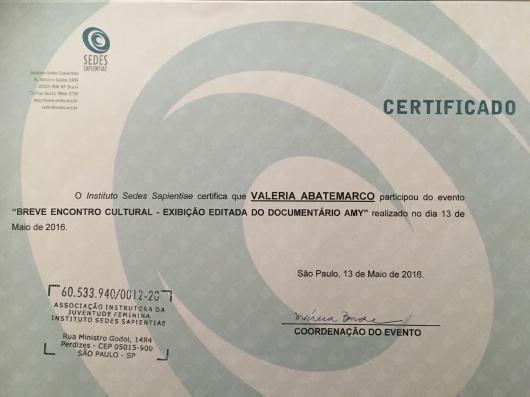 Valeria Abatemarco - Galeria