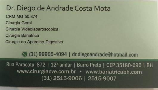 Diego De Andrade Costa Mota  - Galeria