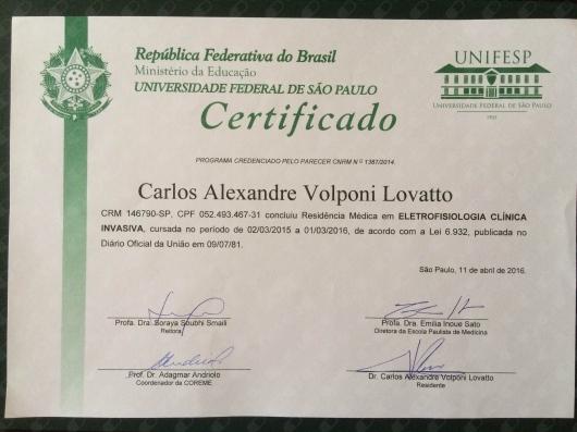 Carlos Alexandre Volponi Lovatto - Galeria de fotos