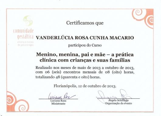Vanderlúcia Rosa Cunha Macario - Galeria