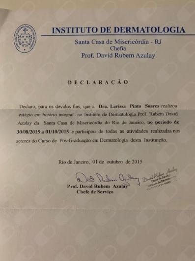 Dra  Larissa Soares Dermatologista, Fortaleza - Agende uma