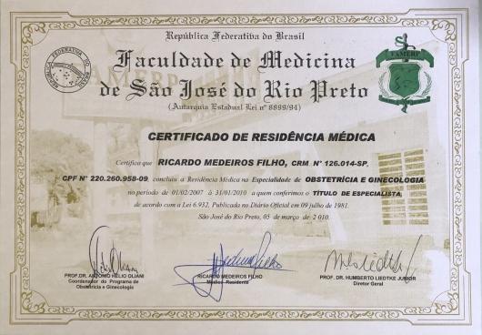 Ricardo Medeiros Filho  - Galeria