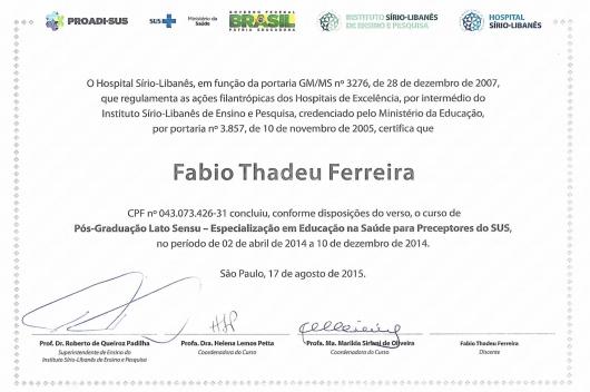 Fabio Thadeu Ferreira - Galeria