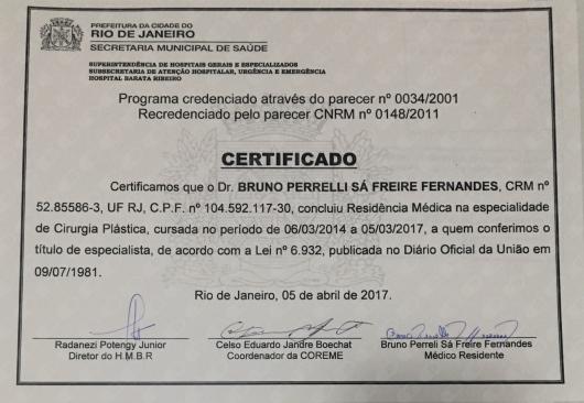 Bruno Perrelli Sá Freire Fernandes  - Galeria