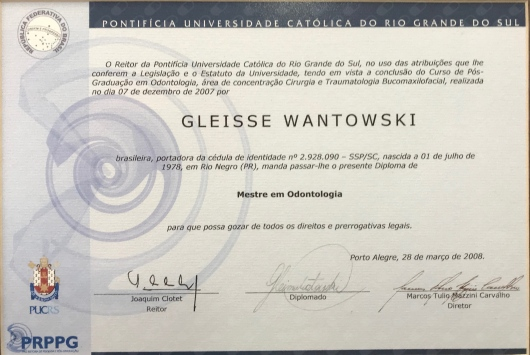 Dra Gleisse Wantowski - Galeria de fotos