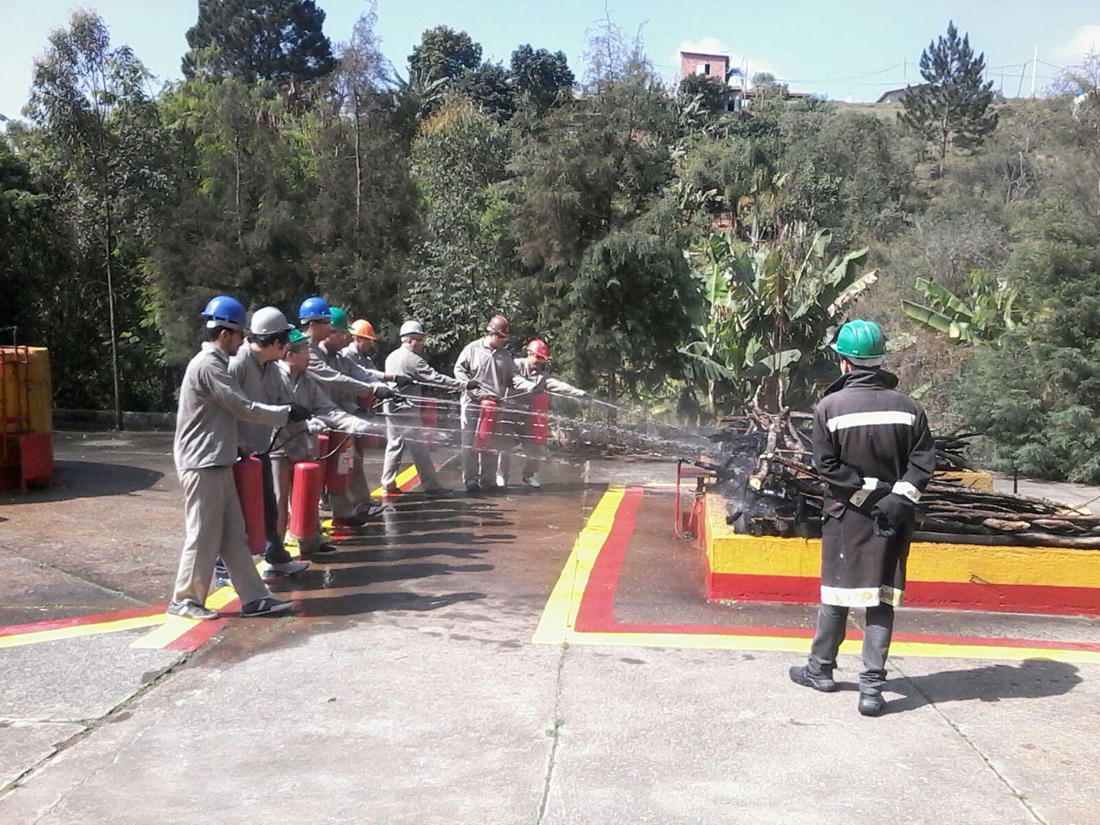 Capacitação de Brigadas de Emergência