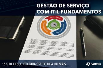 Gestão de Serviços com Itil Foundation 07/11 a 11/11/2016