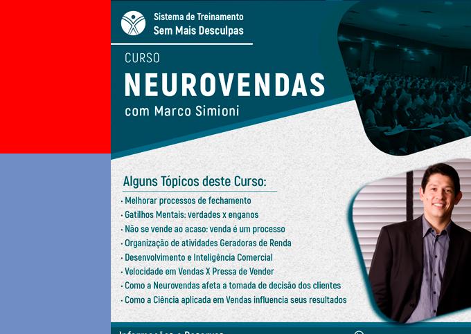 Neurovendas - Sinop/MT - 31/03 a 01/04/2020