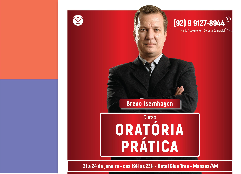 ORATÓRIA PRÁTICA - Manaus/AM - 21/01 a 24/01/2019