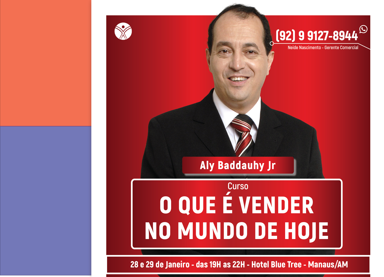 O que é Vender no Mundo de Hoje - Manaus/AM - 28/01 a 29/01/2019
