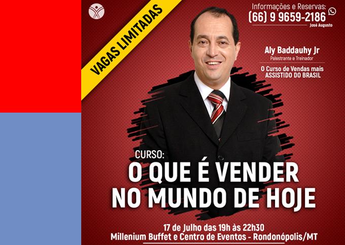 O que é Vender no Mundo de Hoje - Rondonópolis/MT - 17/07 a 17/07/2019