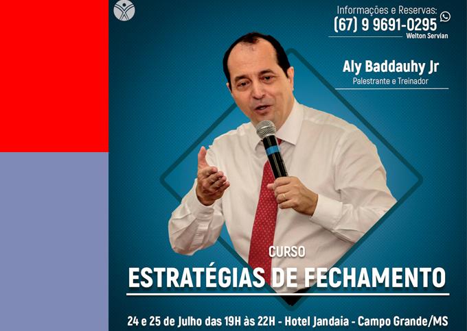 Estratégias de Fechamento - Campo Grande/MS - 24/07 a 25/07/2019