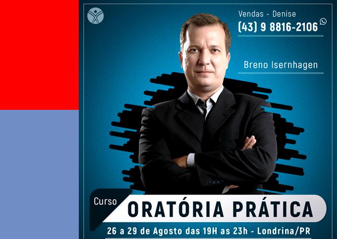 ORATÓRIA PRÁTICA - Londrina/PR - 26/08 a 29/08/2019