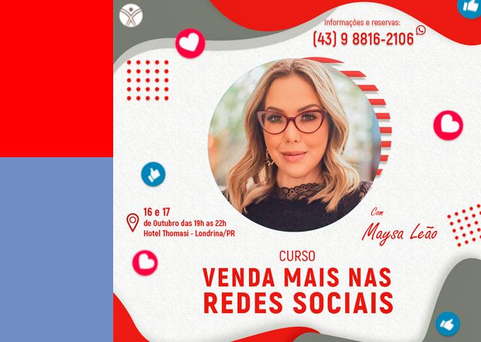 Venda Mais Nas Redes Sociais - Londrina/PR - 16/10 a 17/10/2019