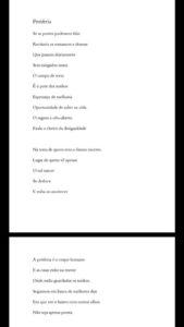 """Poesia do livreto """"Remando contra a maré"""", de Lucas Barreto Lins. Clique para ampliar."""