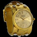 Relógio EF bracelete feminino, cor dourado