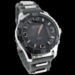 Relógio EF metal masculino cinza