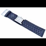 Relógio EF bracelete feminino em couro azul marinho
