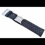 Relógio EF bracelete feminino em couro preto