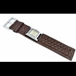 Relógio EF bracelete feminino em couro chocolate