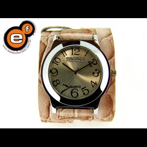 Relógio pele de crocodilo EF. 1611