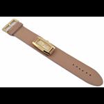 Relógio EF feminino bege / dourado