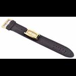 Relógio EF feminino marrom / dourado