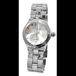 Relógio EF metal feminino prata /prata