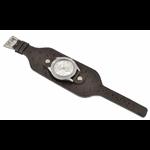 Relógio EF bracelete feminino avestruz café