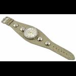 Relógio EF bracelete feminino anaconda off