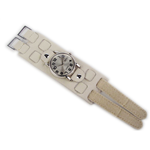 Relógio EF bracelete unissex off fecho com velcro