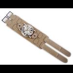 Relógio EF bracelete unissex concreto fecho com velcro