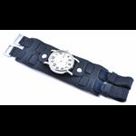 Relógio EF bracelete unissex azul fecho com velcro