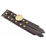 Relógio EF bracelete feminino bliss café/dourado