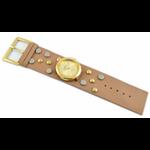 Relógio EF bracelete  feminino pullap bege