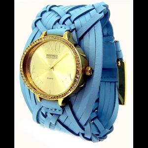 Relógio feminino trançado indiano EF. 2154/trança PROMO