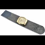 Relógio EF bracelete feminino arraia cinza/dourado