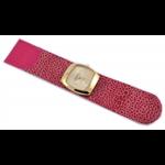 Relógio EF bracelete feminino arraia pink/dourado
