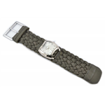 Relógio EF trança feminino ascari cinza