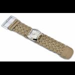 Relógio EF trança feminino ascari amendoa