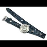 Relógio EF feminino duas voltas azul