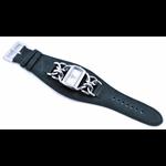 Relógio EF bracelete feminino de corrente/preta
