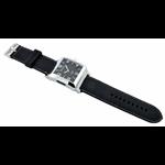 Relógio EF borracha masculino preto