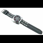 Relógio EF borracha cinza masculino