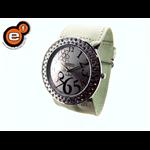 Relógio EF feminino franzido marfim