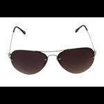 Óculos EF metal marrom / lentes marrom