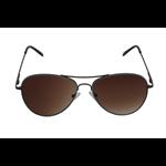 Óculos EF metal azul / lentes marrom