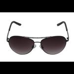 Óculos EF metal cinza / lentes cinza