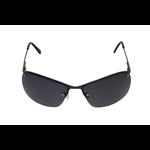 Óculos EF metal grafite / lentes pretas